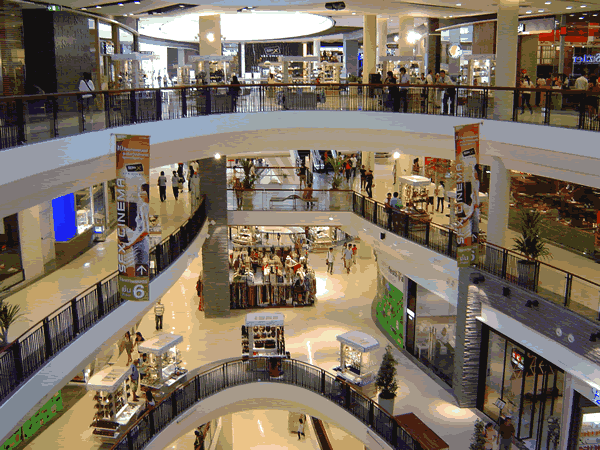 Обслуживание торговых центров